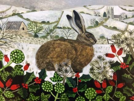 Vanessa Bowman, Hare in Winter