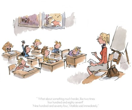 Quentin Blake/Roald Dahl, LOW STOCK - 'Nine Hundred and Seventy Four' Matilda said