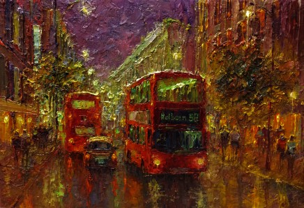 Lana Okiro, Oxford Street at Night