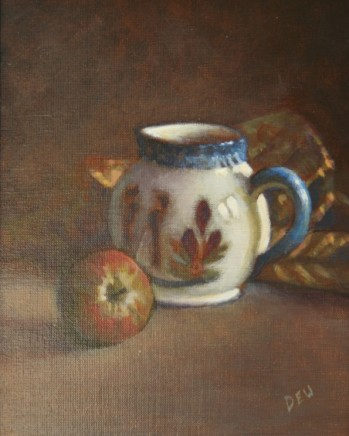 Red Apple and Jug