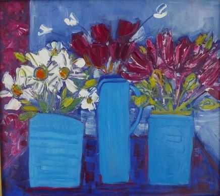 Penny Rees, Three Blue Jars