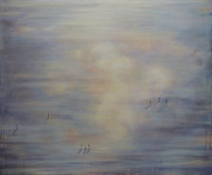 Hannah Davies, Mirrored Sky, 2020