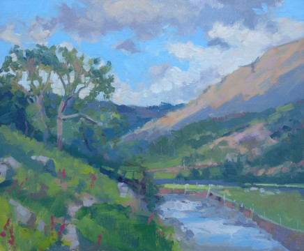 Jennifer Greenland, Borrowdale Late Afternoon Sunshine, 2020