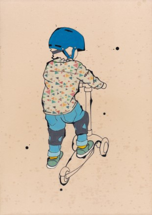 Tracey Oldham, Scooter , 2020