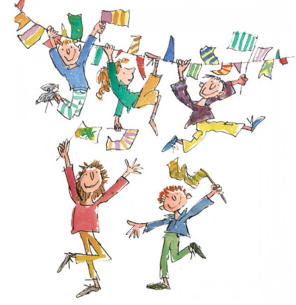 Quentin Blake/Roald Dahl, LOW STOCK - Celebration