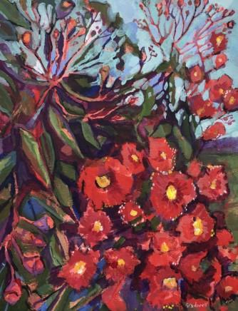 Kate Gradwell, Lake Conjola Gum Blossom, 2020