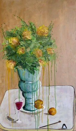 Caleb Slater, Ink & Flowers, 2021