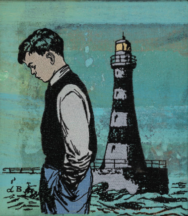 David Bromley, Boy and lighthouse (sulky boy)