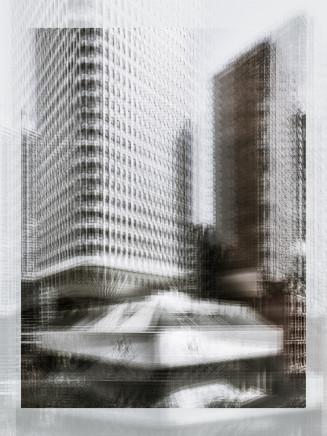 Mark Syke, Sydney Masonic Centre (Blur Series), 2018