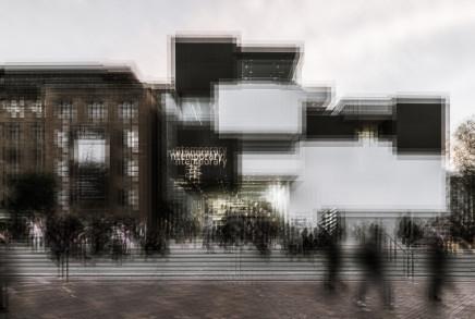 Mark Syke, Museum of Contemporary Art (Blur Series), 2018