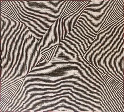 Warlimpirrnga Tjapaltjarri, Untitled, 2020