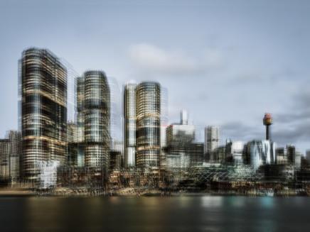 Mark Syke, International Towers Sydney (Blur Series), 2018