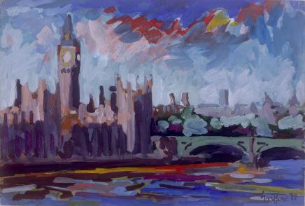 Peter Griffen, Big Ben & Westminster Bridge, 1999-2021