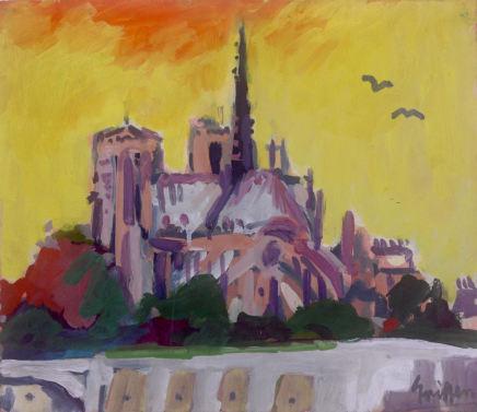 Peter Griffen, Notre Dame, Ciel Jaune, 1999-2021