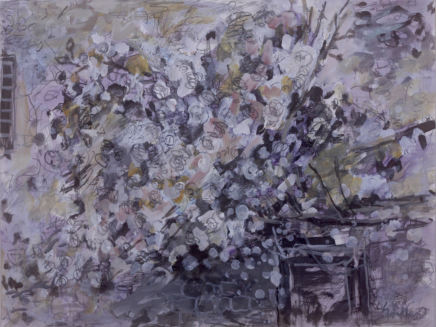 Peter Griffen, Rose Wall no. 3 (pastel), 2012-2021