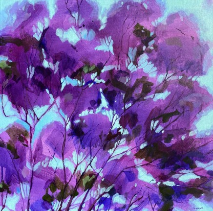Kate Gradwell, Purple Rain , 2020