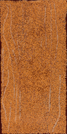Bess Nungarrayi Price, Untitled, (Mala Country Jukurrpa), 2017