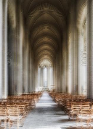 Mark Syke, Grundtvigs Kirke (Blur Series), 2018