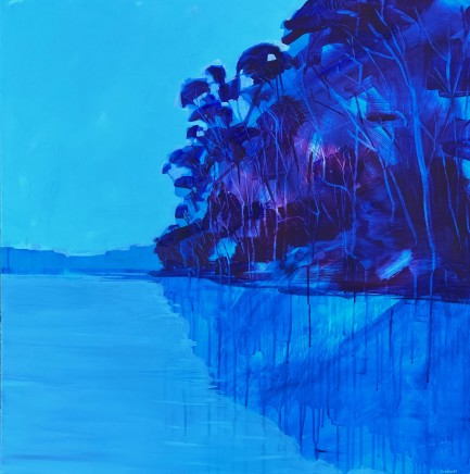 Kate Gradwell, Tangled Up In Blue, 2020