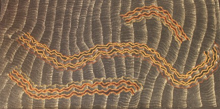 Debbie Brown Napaltjarri, Untitled, 2018