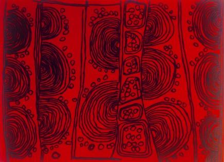 Naata Nungurrayi, Iconography No. 41, 2008