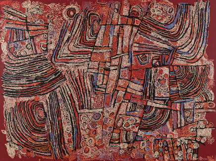 Naata Nungurrayi, Untitled, 2009