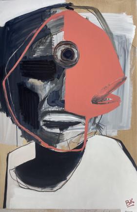 Brendan Kelly, Portrait Of A Snapper Person, 2021