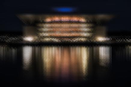 Mark Syke, Kobenhavns Operahus (Blur Series), 2018