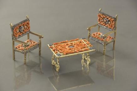 Miniature furniture, 17th/18th century
