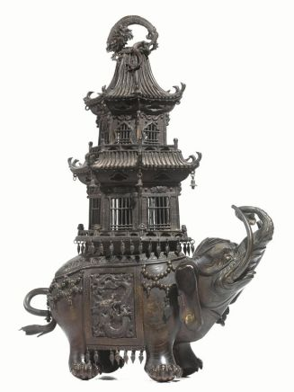 Bronze Censer , Japan, second half of the 19th Century
