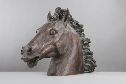 Head of a Horse, 19th Century, prob. Florence