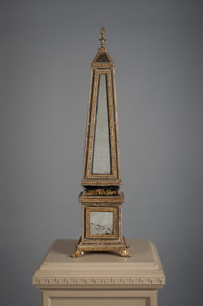 A pair of obelisks, North Italy, 18th Century