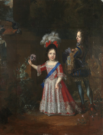 Nicolas de Largillière, Portrait of James Francis Edward Stuart, Prince of Wales, 1692