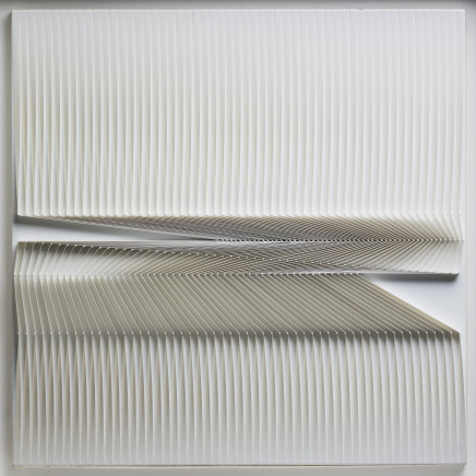 Alberto Biasi, Homage to Strzemiński, 1974
