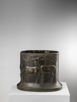 Duilio Cambellotti, Bronze vase