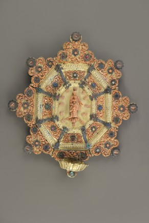 Reliquary Holy Water Font, 17th/18th century