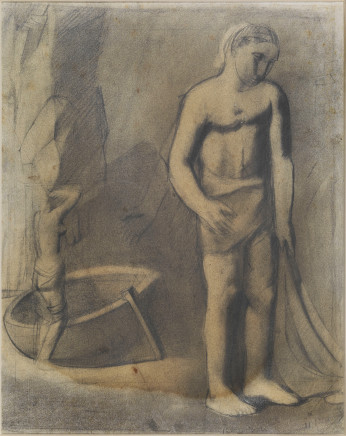 Mario Sironi, Fisherman, 1925 (?)