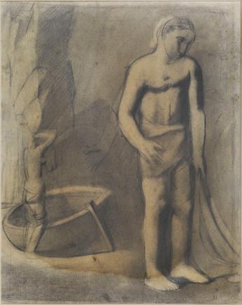Mario Sironi, Fisherman, 1925 circa