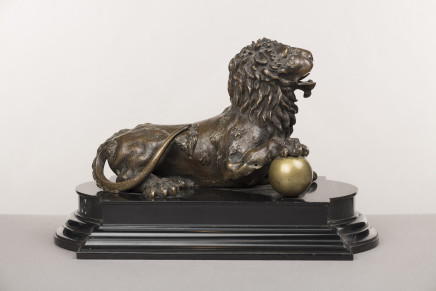 Bronze Figure of a Lion, Germany, 17th Century