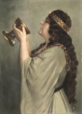 Alex Duschnitz, Portrait of Eleonora Duse, 1902 circa
