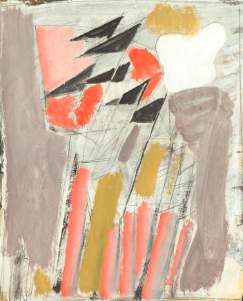 """Mario Sironi, """"Gagliardetti"""", ca. 1932"""