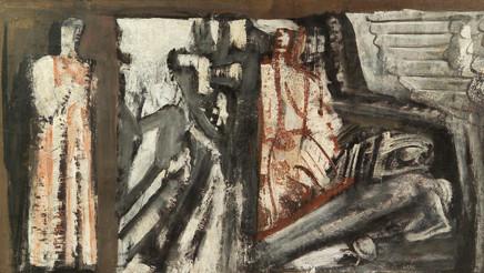 Mario Sironi, Mural composition, 1935-36