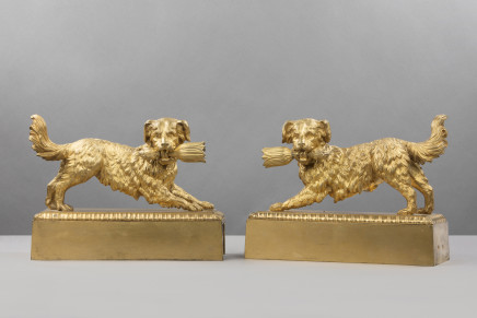 A pair of Dogs, France, 19th Century