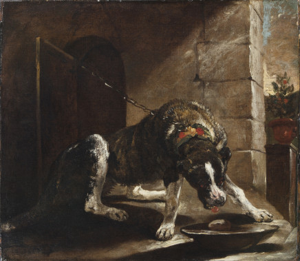Painting depicting a Dog, Antwerp, First Half of the 17th Century
