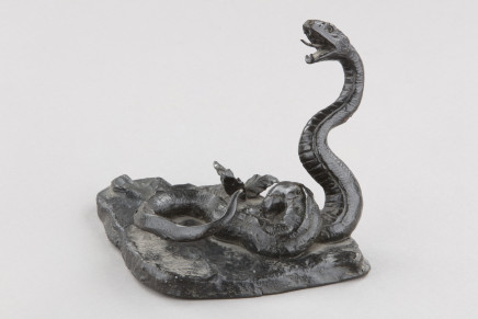 Bronze Figure of a Snake, Late 19th Century