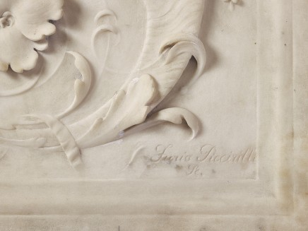 Furio Piccirilli, Front Panel of a Fireplace