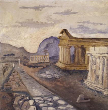 Corrado Cagli, Paestum, 1932