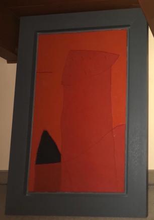 Gianfranco Asveri, Red painting 2, 1991