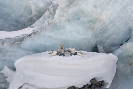 Anne de Carbuccia, Receding Glacier 1