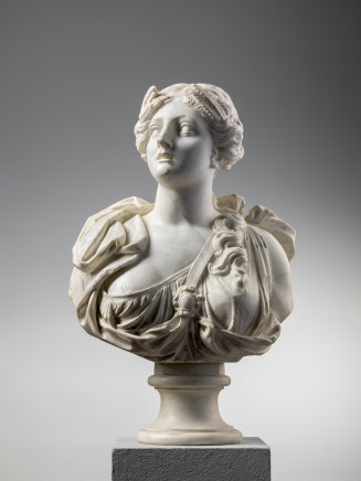 Tommaso Rues, VENUS - CERES - JUNO - BUST OF A GODDESS, Venice, Second half of the 17th Century